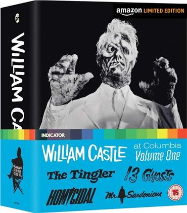 William Castle at Columbia - Volume 1 (Limited Edition, 4 Blu-rays)