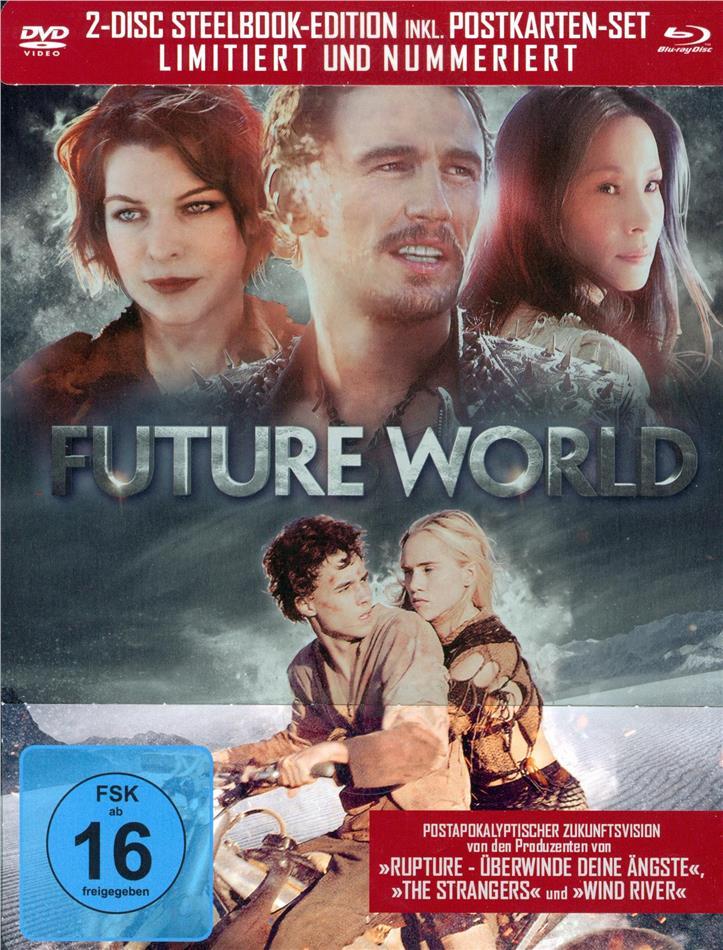 Future World (2018) (Limited Edition, Steelbook, Blu-ray + DVD)