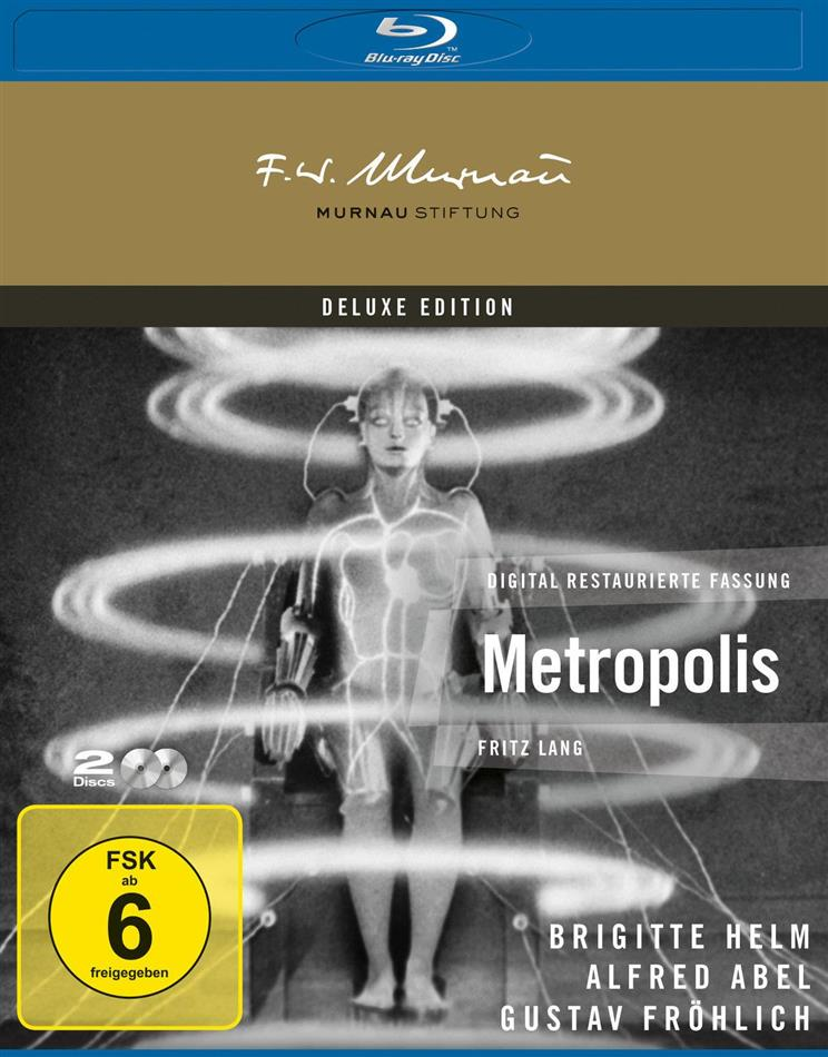 Metropolis (1927) (Deluxe Edition, 2 Blu-rays)