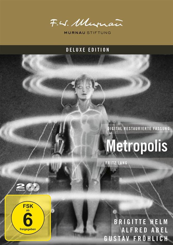 Metropolis (1927) (s/w, Deluxe Edition, 2 DVDs)