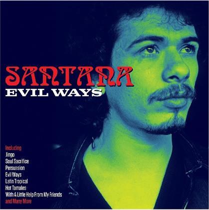Santana - Evil Ways (Not Now Records, 2018 Reissue, 3 CDs)