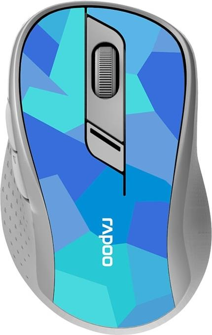 Rapoo - M500 - Blue - Silent Wireless Dualmode Mouse