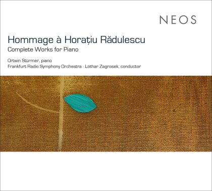 Horatiu Radulescu, Lothar Zagrosek, Ortwin Stürmer & Radio Sinfonie Orchester Frankfurt - Sämtliche Klavierwerke - Complete Works For Piano (3 SACDs)