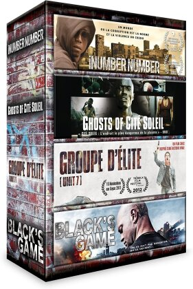 iNumber Number / Ghosts of Cité Soleil / Groupe d'élite / Black's Game (4 DVDs)