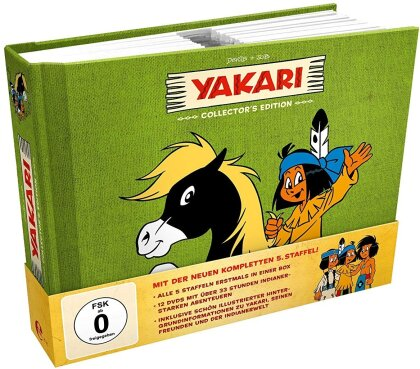 Yakari - Staffel 1-5 (Collector's Edition, 12 DVDs)
