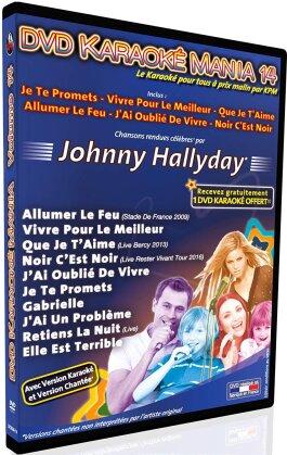 Karaoke - Karaoke Mania: Vol. 14 - Johnny Hallyday
