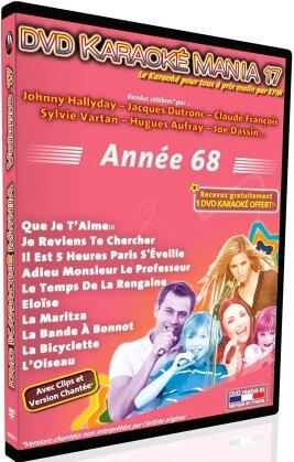 Karaoke - Karaoke Mania: Vol.17 - Année 68