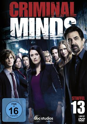 Criminal Minds - Staffel 13 (5 DVDs)