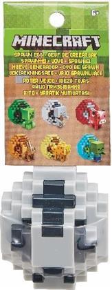 Minecraft Mini-Figuren Spawn-Ei Sortiment - Farblich Assortiert, 1 Stück