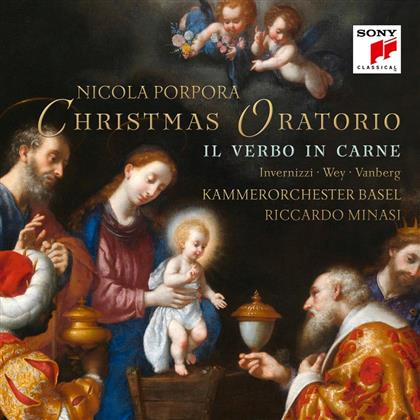 Kammerorchester Basel, Nicola Antonio Porpora (1686-1768) & Riccardo Minasi - Il verbo in carne