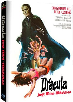 Dracula jagt Mini-Mädchen (1972) (Hammer Edition, Cover B, Limited Edition, Mediabook)