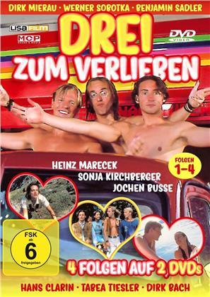 Drei zum Verlieben - Folgen 1-4 (2 DVDs)