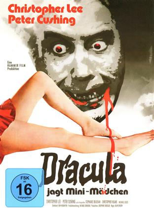 Dracula jagt Mini-Mädchen (1972) (Hammer Edition, Cover A, Limited Edition, Mediabook)