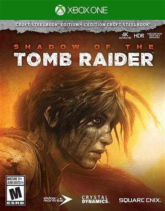 Shadow Of The Tomb Raider - Croft Steelbook Edition