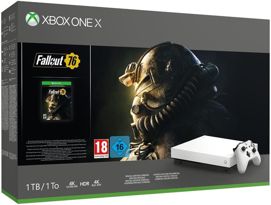 XBOX-One 1TB X weiß + Fallout 76 (Édition Spéciale)