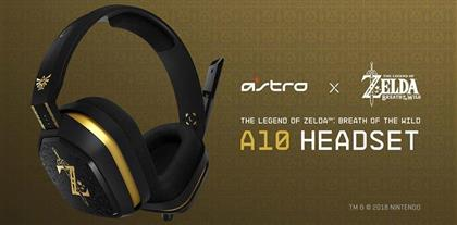 Astro Gaming The Legend of Zelda Breath of the Wild A10 Headset