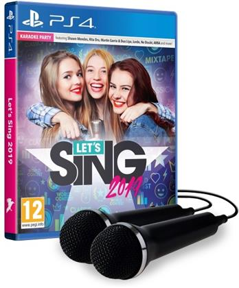 Let's Sing 2019 + 2 Mics