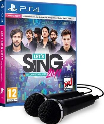 Let's Sing 2019 mit Deutschen Hits + 2 Mics