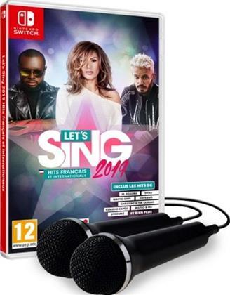Let's Sing 2019 Hits français et internationaux [+ 2 Mics]