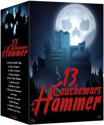 13 cauchemars de la Hammer (Limited Edition, 13 DVDs)