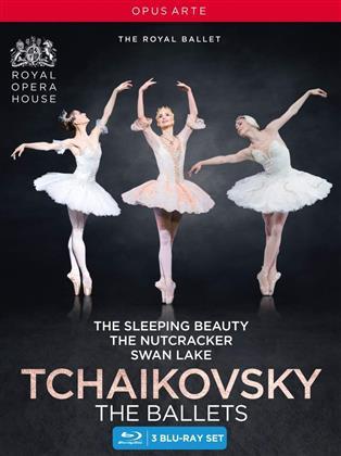 Royal Ballet, … - Tchaikovsky: The Ballets - Swan Lake / Sleeping Beauty / The Nutcracker (Opus Arte, 3 Blu-rays)