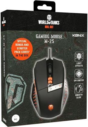 PC Mouse M-25 Konix World of Tanks