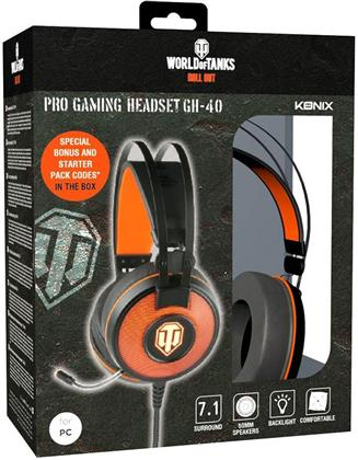 KONIX - World of Tanks Headset 7.1
