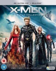 X-Men 1-3 (3 4K Ultra HDs + 3 Blu-rays)