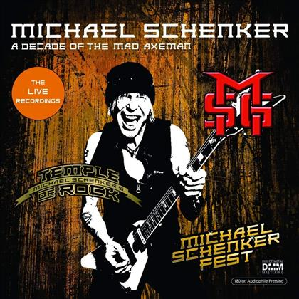 Michael Schenker - A Decade Of The Mad Axeman - The Live Recordings (2 LPs)