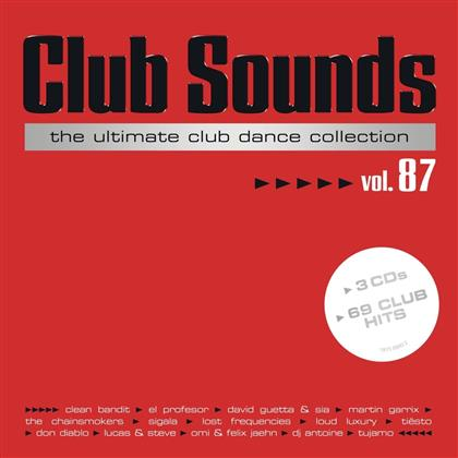 Club Sounds - Ultimate Club Dance 87 (3 CDs)