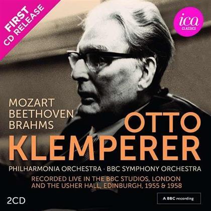 Otto Klemperer, Philharmonia Orchestra & BBC Symphony Orchestra - Live Recordings (2 CDs)