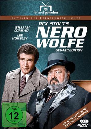 Nero Wolfe - Alle 14 Folgen plus Pilotfilm (Fernsehjuwelen, 4 DVDs)