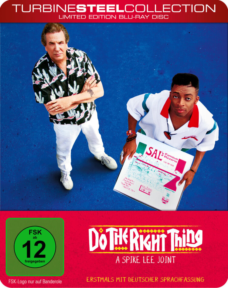 Do the Right Thing (1989) (Turbine Steel Collection)
