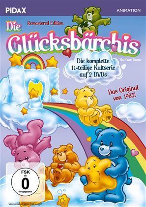 Die Glücksbärchis - Die komplette Serie (Pidax Animation, Remastered, 2 DVDs)