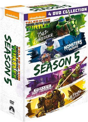 Teenage Mutant Ninja Turtles - Stagione 5 (4 DVDs)