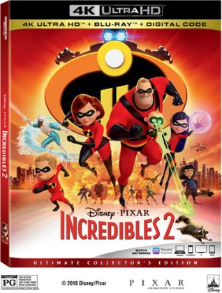 Incredibles 2 (Ultimate Collector's Edition, 4K Ultra HD + Blu-ray)