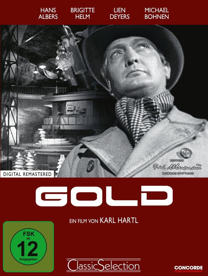 Gold (1934) (Classic Selection, s/w, Limited Edition, Mediabook, Remastered)