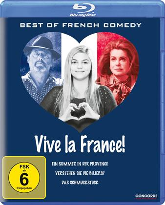 Vive la France! Best of French Comedy (3 Blu-rays)