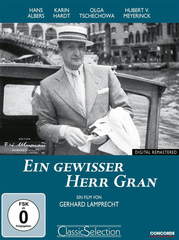 Ein gewisser Herr Gran (1933) (Classic Selection, Remastered)