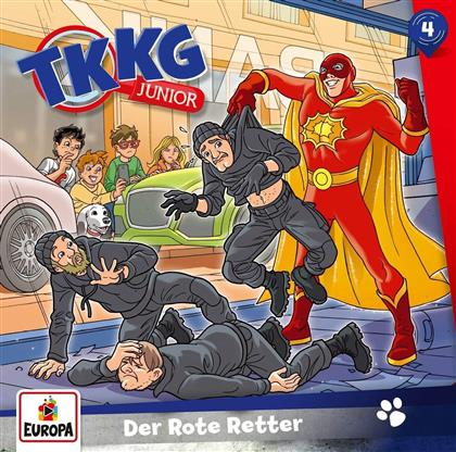 TKKG Junior - 004/Der Rote Retter