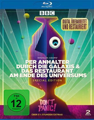 Per Anhalter durch die Galaxis / Das Restaurant am Ende des Universums (BBC, 2 Blu-rays)