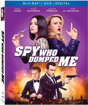 The Spy Who Dumped Me (2018) (Blu-ray + DVD)