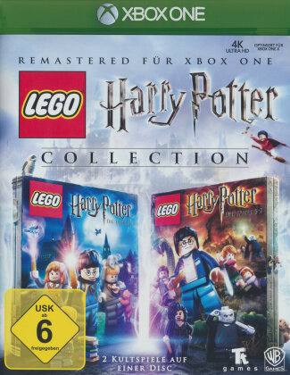 Lego Harry Potter Collection HD Remastered Jahre 1-7 (German Edition)