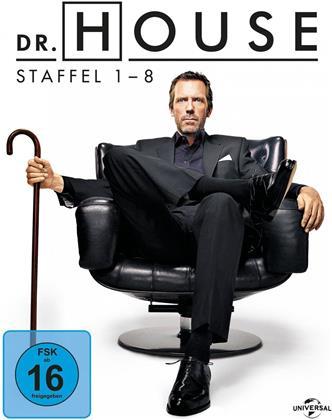 Dr. House - Die komplette Serie - Staffel 1-8 (39 Blu-rays)