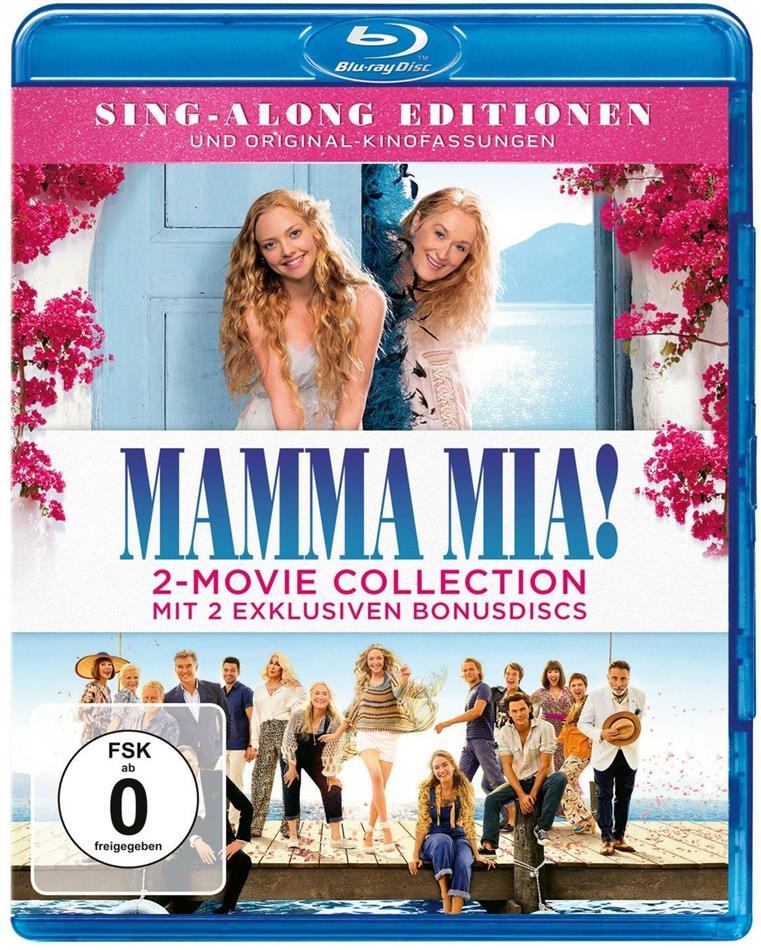 Mamma Mia! 1+2 - 2-Movie Collection (4 Blu-rays)