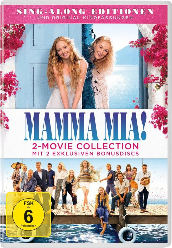 Mamma Mia! 1+2 - 2-Movie Collection (4 DVDs)