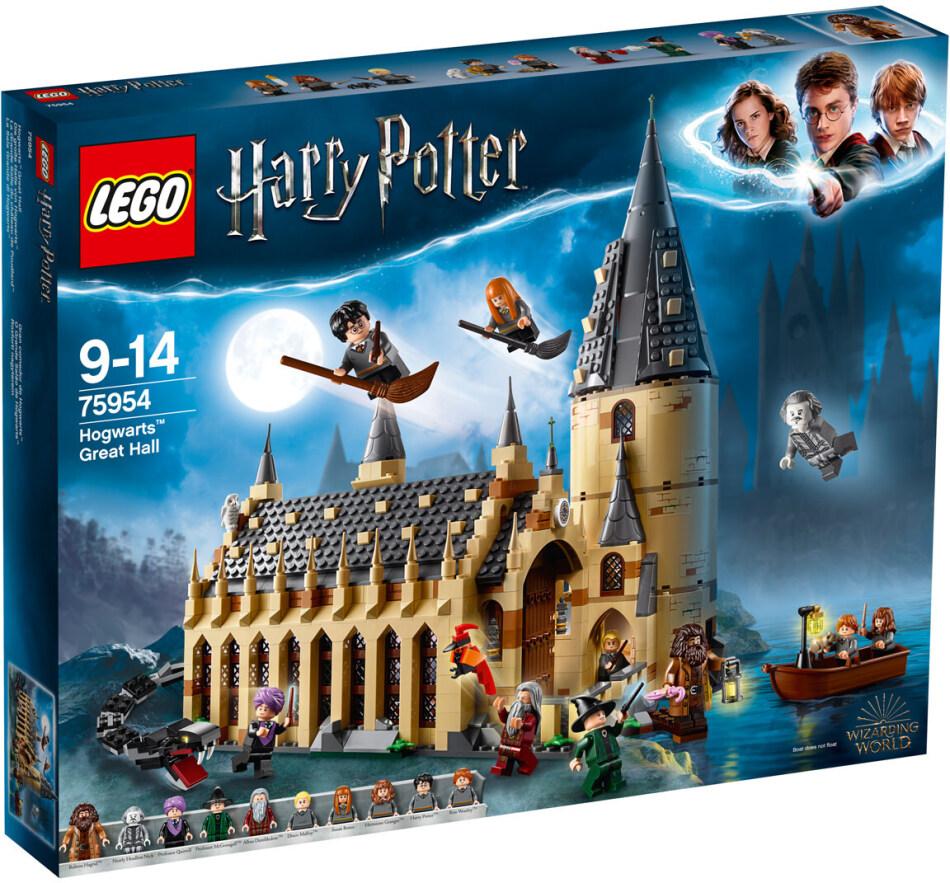 LEGO© 75954 Harry Potter - Die grosse Halle von Hogwarts(TM)