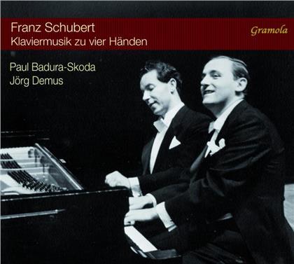 Paul Badura-Skoda, Jörg Demus & Franz Schubert (1797-1828) - Klaviermusik Zu Vier Händen (Hybrid SACD + SACD)