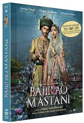 Bajirao Mastani (2015) (Digibook, Limited Edition, Blu-ray + DVD + CD)