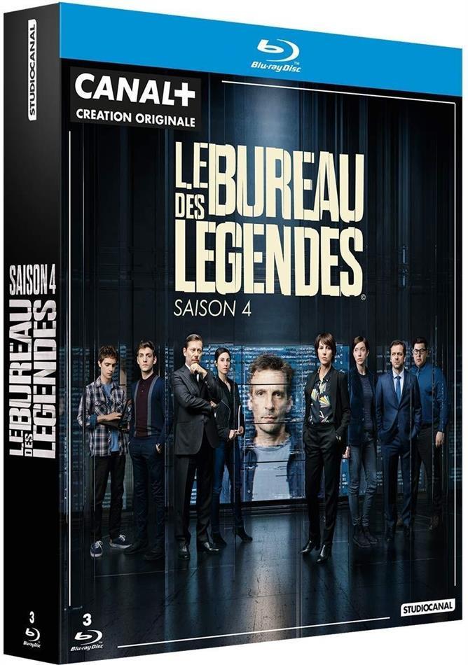 Le Bureau des Légendes - Saison 4 (3 Blu-rays)